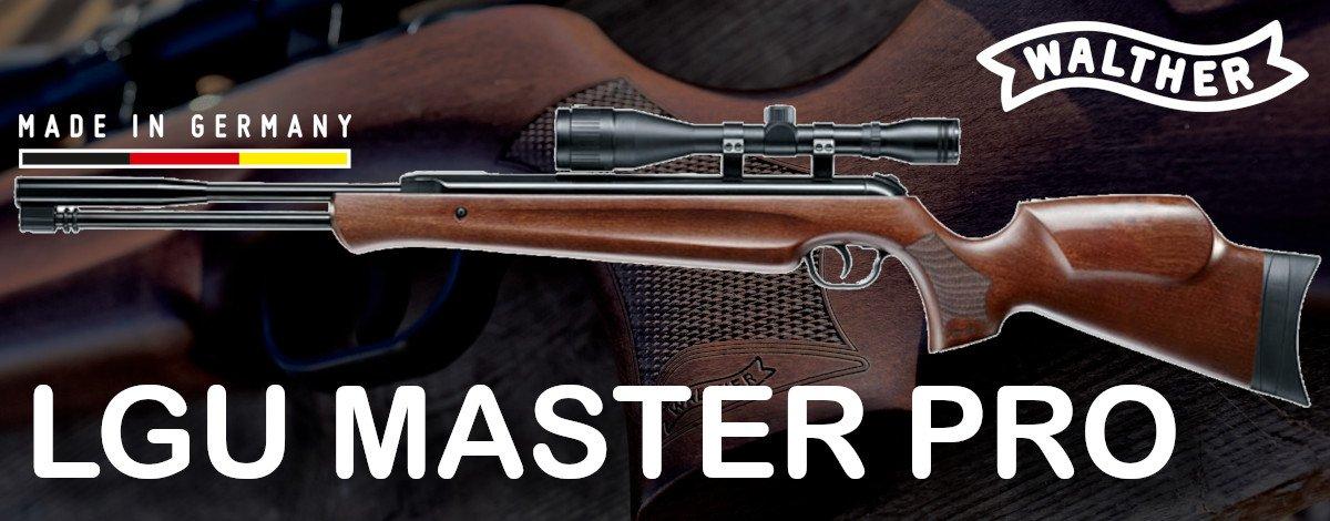 Walther LGU Master PRO Luftgevær