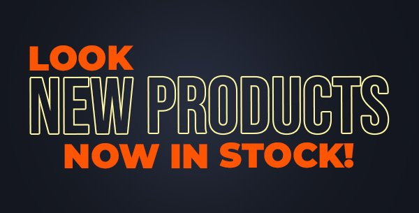 New Products Now In Stock - Shop Now!