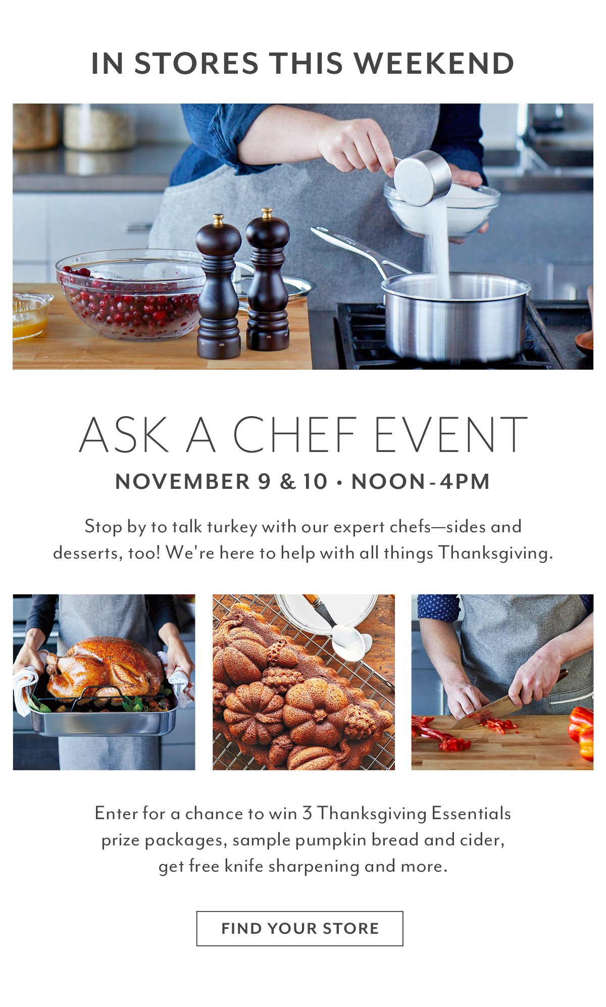 Ask a Chef Event