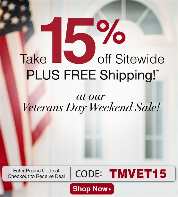Take 15% off Sitewide PLUS FREE Shipping!* from Time for Me.