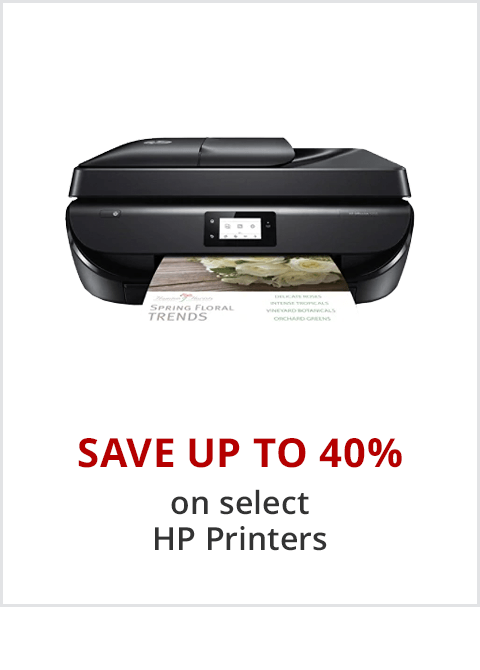 HP Printers - Preview to Black Friday, Save up to 45% + 10% Back in Rewards