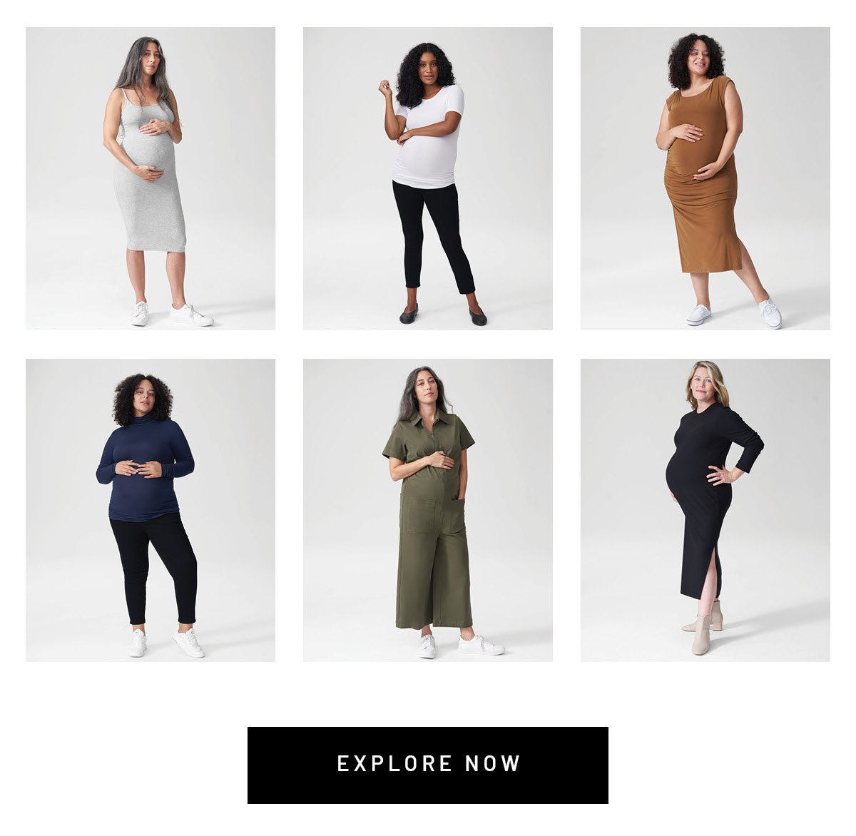 This is not maternity clothing. It's a collection of clothing, curated in partnership with actress and soon-to-be mom Danielle Brooks, that you can wear anytime - when you're pregnant, and when you're not.