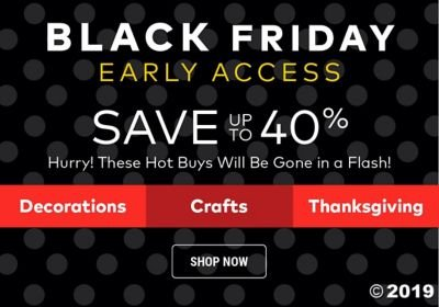 Black Friday Early Access - Save up to 40%