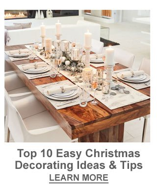 Top 10 Easy Christmas Decorating Ideas & Tips