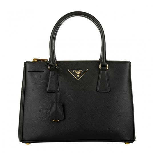 Galleria Tote Bag Medium Nero