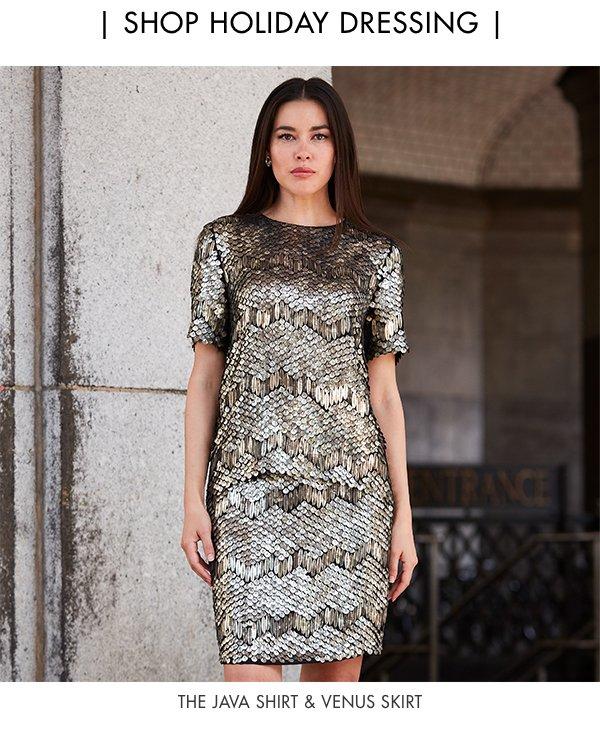 Festive & Fashionable - The Java Shirt & Venus Skirt