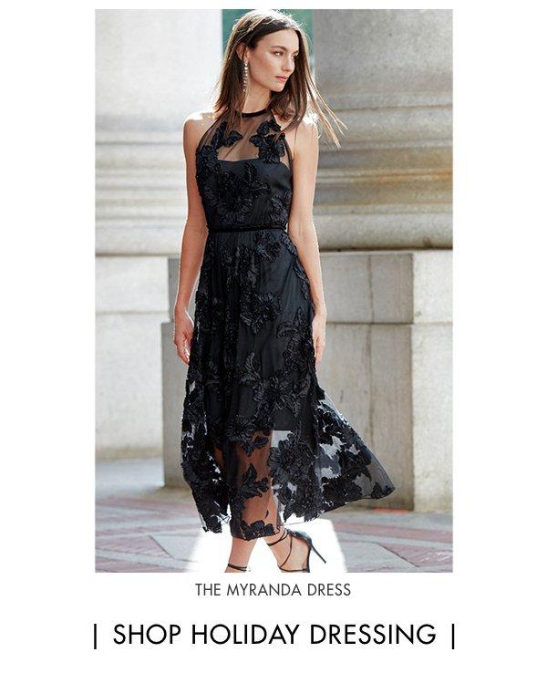 Festive & Fashionable - The Myranda Dress