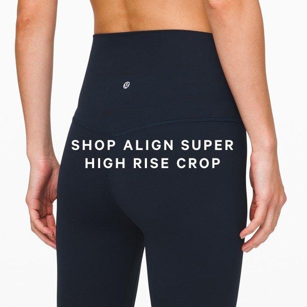 SHOP ALIGN SUPER HIGH RISE CROP
