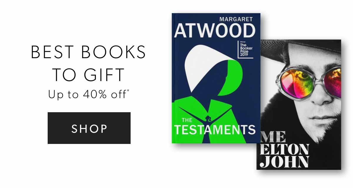 Up To 40% Off Best Books To Gift