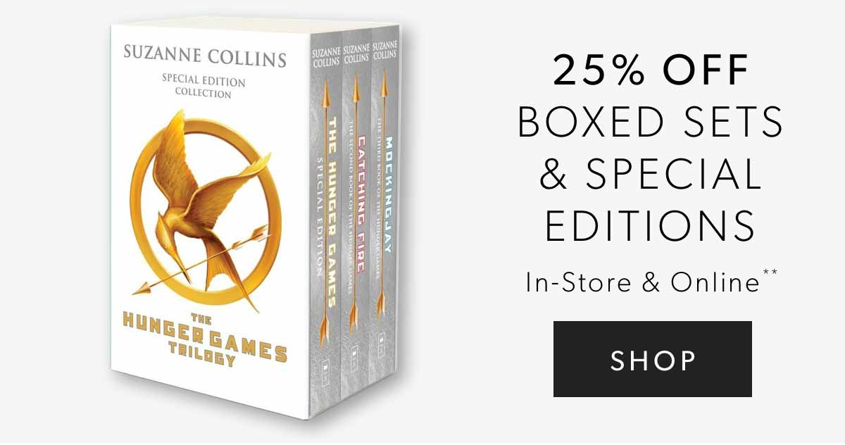 25% Off Boxed Sets & Special Editions