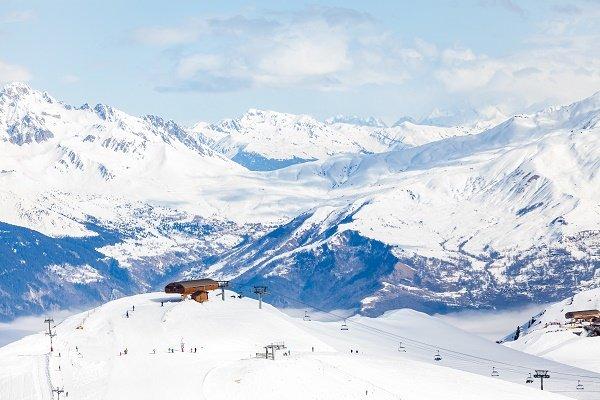 Udforsk skiresorterne i Les Sybelle