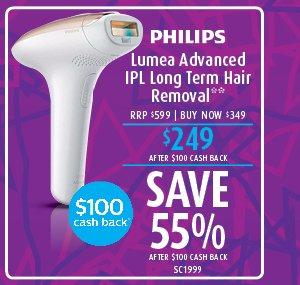 Philips Lumea Advanced IPL Long Term Hair Removal