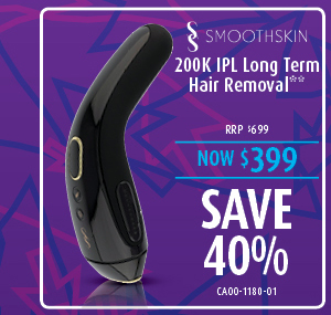 Smoothskin 200K IPL Long Term Hair Removal
