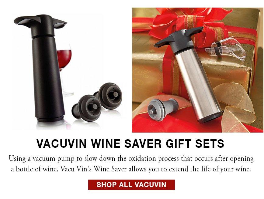 VacuVin Wine Saver Gift Set