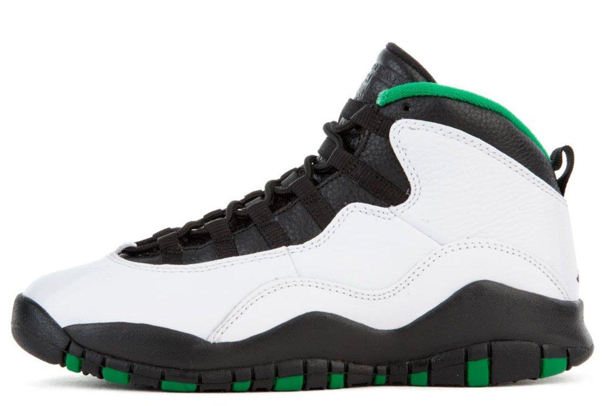 Kids Air Jordan 10 'Seattle'