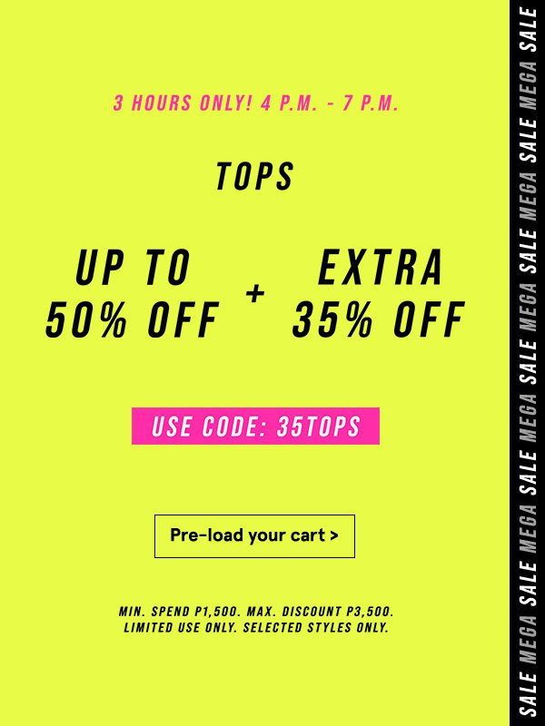 Use code: 35TOPS