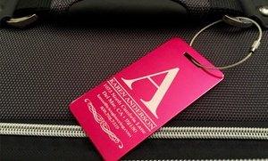 Customized Aluminum Luggage Tags