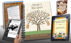Custom Family Cookbooks