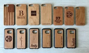 Custom Wood Cell-Phone Cases