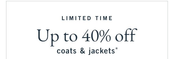 Coats & Jackets on Sale up to 40% Off* (US)