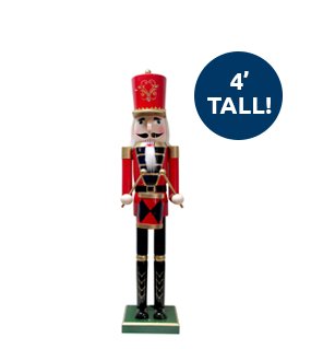 4 feet tall!