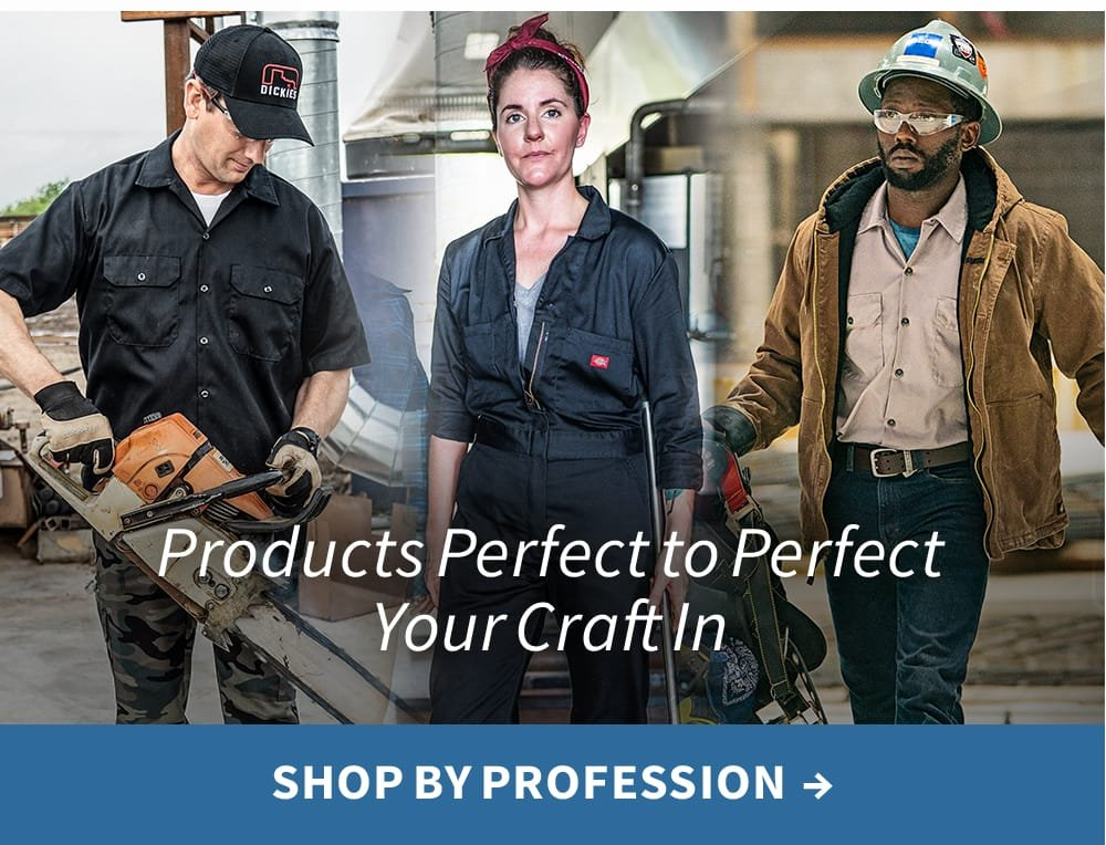 Products perfect to perfect your craft in. Shop by profession