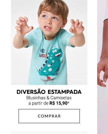 Blusinhas & Camisetas | Infantil