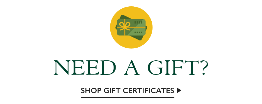Shop Gift Certificates