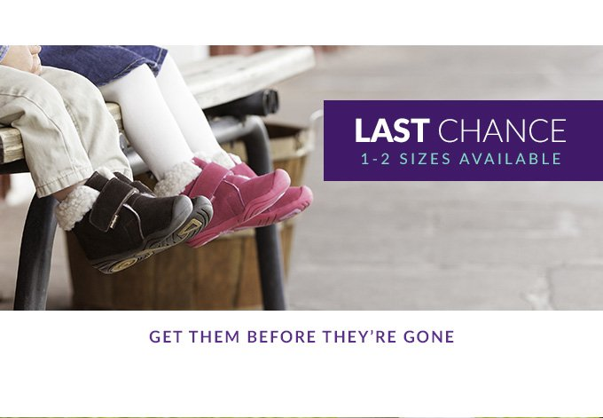 Shop Last Chance Styles