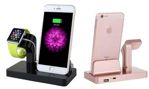 2-in-1 Charging Dock for iPhone