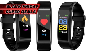 Fitness Tracker with HR and BP