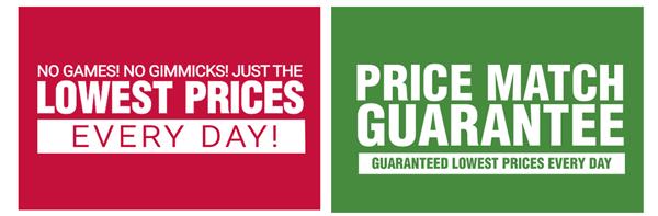 Price Match Guarantee - Learn More