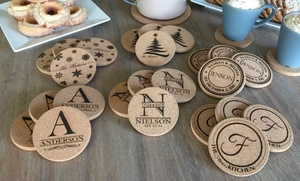 Set of Personalized Coasters