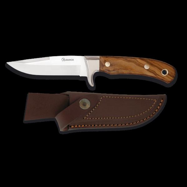 Couteau de chasse droit Albainox Olivier - lame 11 cm