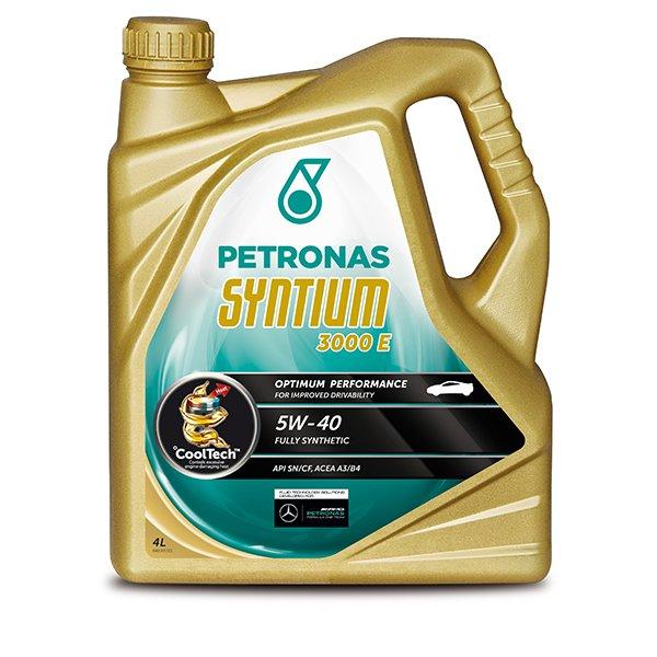 Petronas Syntium 3000 E Engine Oil - 5W-40 - 4ltr