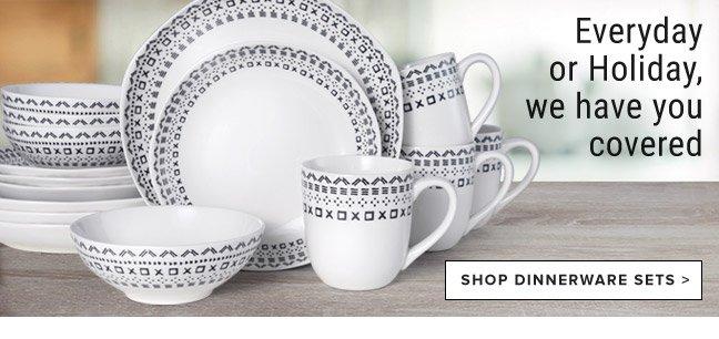Shop Dinnerware Sets