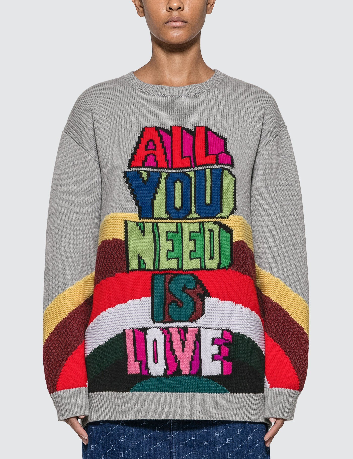 All You Need Is Love Knitted Sweater