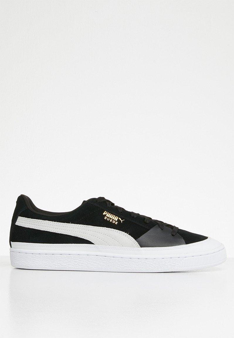 Suede skate - Puma black-Puma white