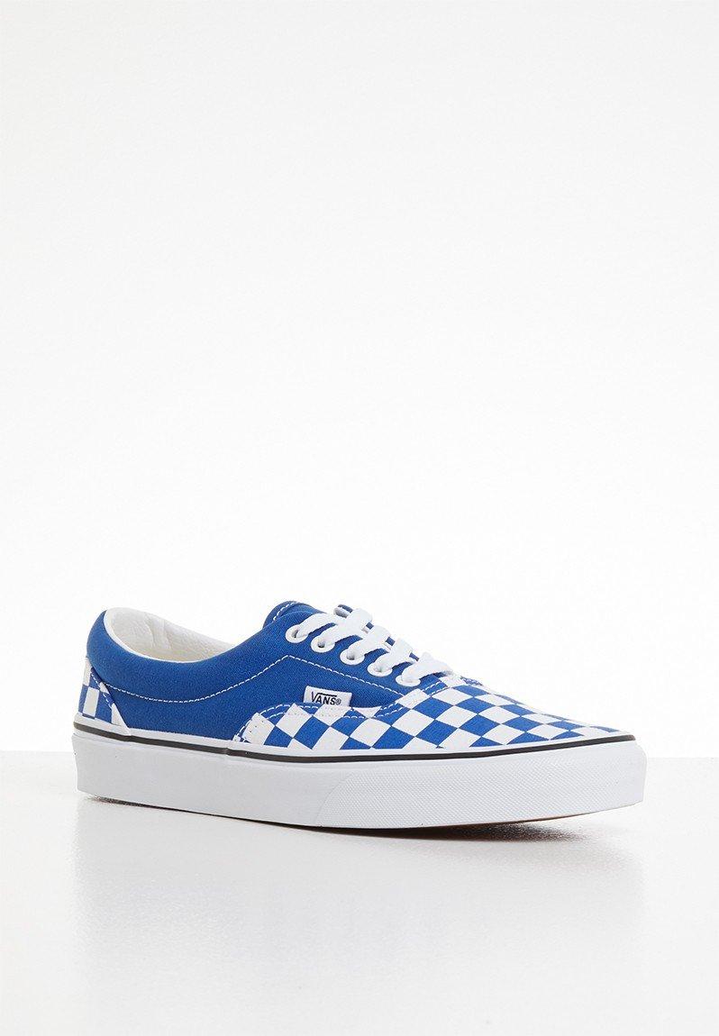 Ua era - (checkerboard) lapis blue & true white