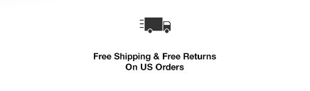 Free Shipping and Free Returns on US Orders
