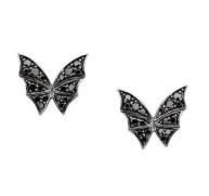 Stephen Webster Fly By Night Black Diamond Butterfly Earrings