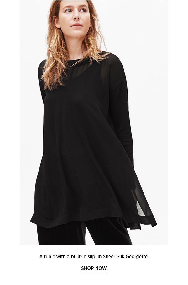A tunic with a built-in slip. SHOP NOW