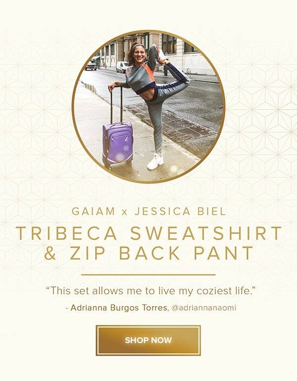 Tribeca Sweatshirt & Zip Back Pant - Shop Now
