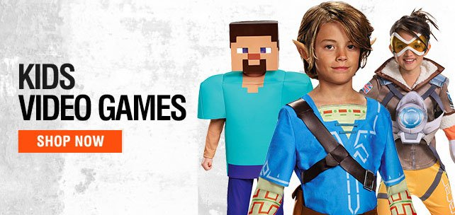 Shop Kids Video Game Costumes
