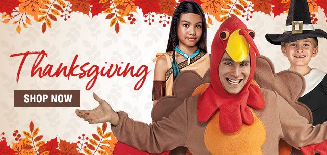 Shop Thanksgiving Costumes