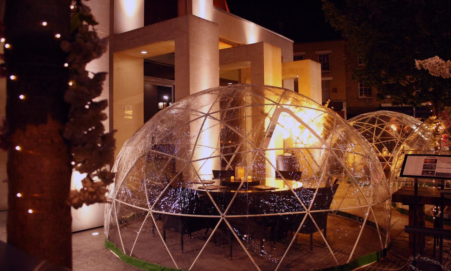 62% off bottomless food in an outdoor igloo at Inamo