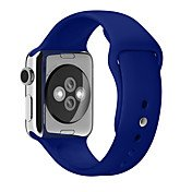 Soft Silicone Sport Band For Apple Watch ...