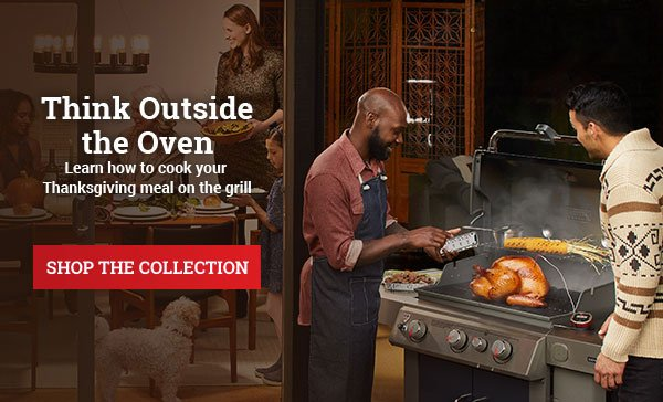 Think outside the oven. Learn how to cook your Thanksgiving meal on the grill.