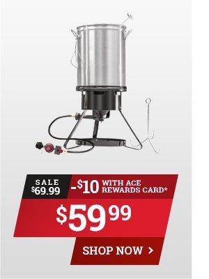 AR Members Save $15 on Masterbuilt Propane Turkey Fryer