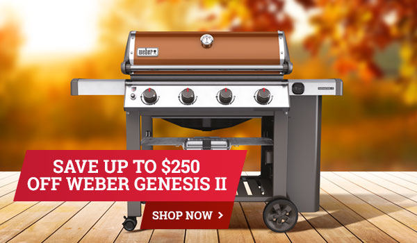 Save Up to $250 Off Weber Genesis II